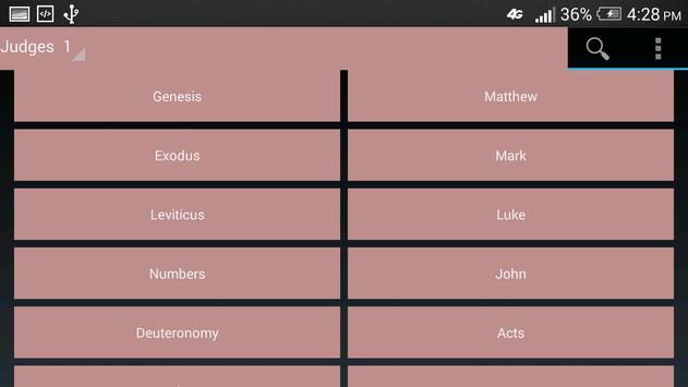 KING JAMES VERSION BIBLE apk screenshot