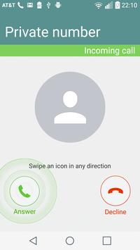Hide My Caller ID Phone Number apk screenshot