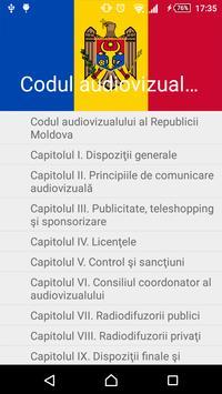 Codul audiovizualului al RM poster