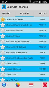 Cek Pulsa Indonesia apk screenshot