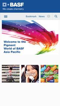 BASF Pigment Finder poster