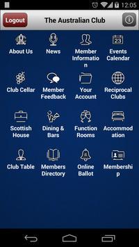 The Australian Club poster