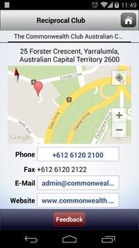The Australian Club apk screenshot
