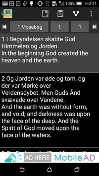 Danish English Bible apk screenshot