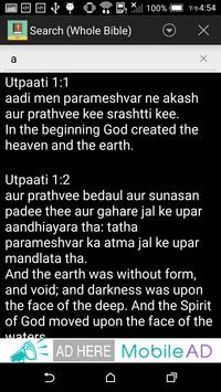 Hindi(Tr) English Bible apk screenshot