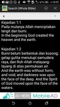Indonesian English Bible apk screenshot