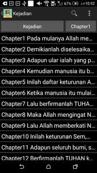 Indonesian English Bible poster