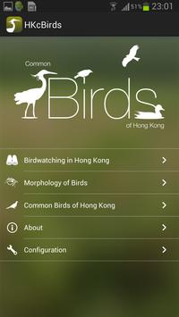 Common Birds of Hong Kong poster