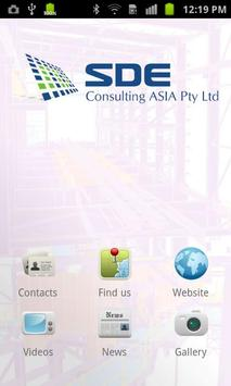 SDE Consulting poster