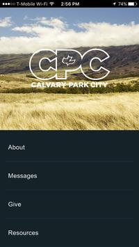 Calvary Chapel Park City poster