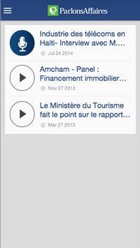 Parlons Affaires Mobile apk screenshot