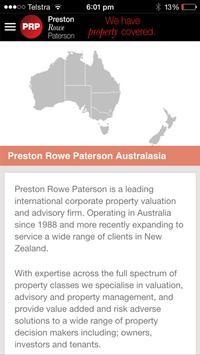 PRP Preston Rowe Paterson poster