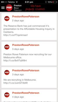 PRP Preston Rowe Paterson apk screenshot