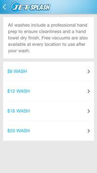 Jet Splash Service Car Wash apk screenshot
