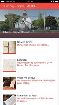 Calvary Chapel Racine poster