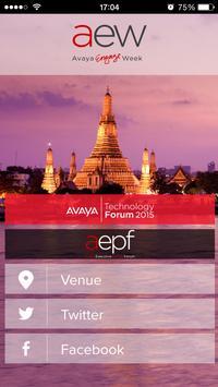 Avaya Engage Week - Bangkok poster