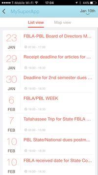 FBLA mobile app 2016 apk screenshot