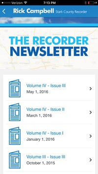 Stark County Recorder's App apk screenshot