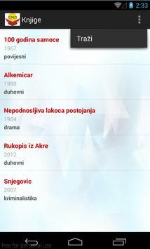 BookBrowser Demo apk screenshot