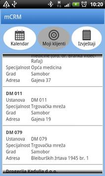 mCRM apk screenshot