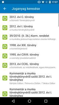 Jogtár Mobil apk screenshot