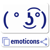Emoticons copy or share Free icon