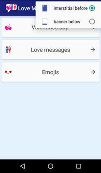 Love messages collection apk screenshot