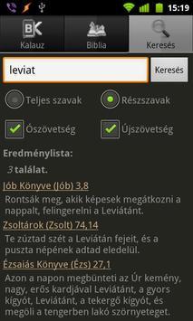 BibOlKa - Új fordítású Biblia apk screenshot