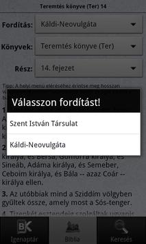 BibOlKAT - Káldi-Neovulgáta apk screenshot