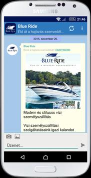 Blue Ride poster
