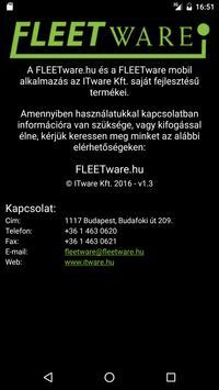 FLEETware apk screenshot
