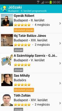 JóSzaki apk screenshot
