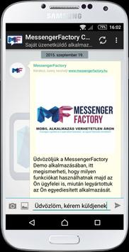 MessengerFactory Chat poster