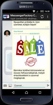 MessengerFactory Chat apk screenshot