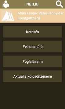 Móra Ferenc Városi Könyvtár apk screenshot