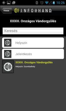 MHT INFO@HAND apk screenshot