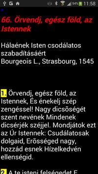 Református énekeskönyv apk screenshot