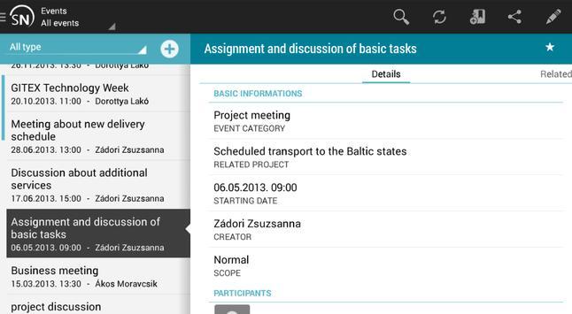 Smartnet apk screenshot