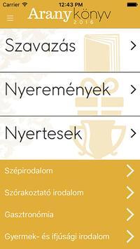 Aranykönyv apk screenshot