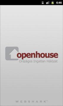 Openhouse Ingatlan poster