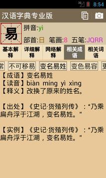汉语字典专业版 apk screenshot
