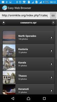 Easy Web Browser apk screenshot