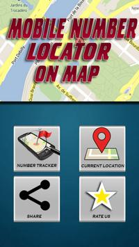 Mobile Number Locator On Map poster
