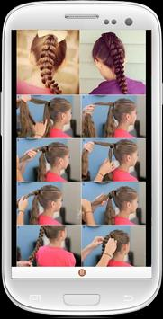 Easy Girl Hairstyles apk screenshot