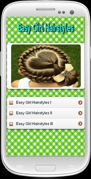 Easy Girl Hairstyles poster