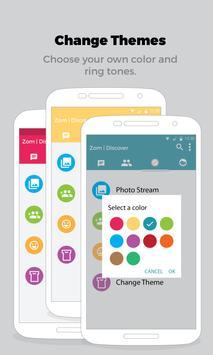 Zom Mobile Messenger apk screenshot