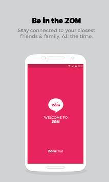 Zom Mobile Messenger poster