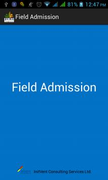 iMFAS Field Admission poster