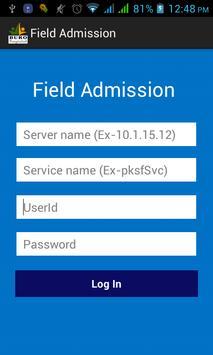 iMFAS Field Admission apk screenshot