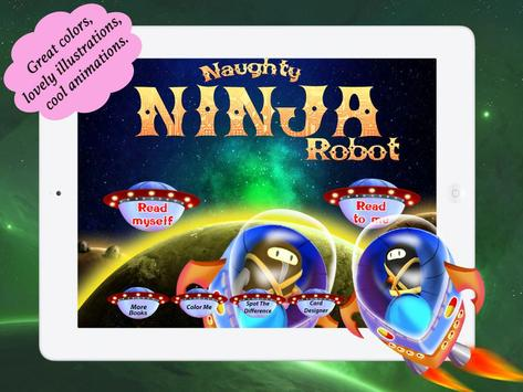 Naughty Ninja Robot apk screenshot